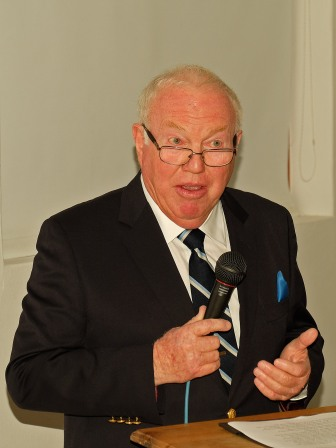 John Rorke was guest speaker and urged the BotSoc to retain its independence